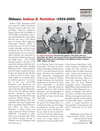 Marine Technology Magazine, page 49,  Nov 2005 Ralph White