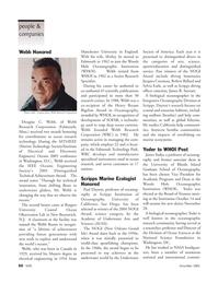 Marine Technology Magazine, page 50,  Nov 2005 California; Antarctic