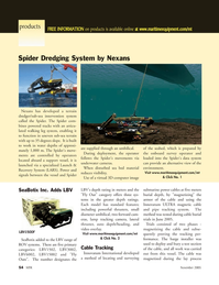 Marine Technology Magazine, page 54,  Nov 2005 SeaBotix Inc.