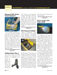 Marine Technology Magazine, page 56,  Nov 2005 Field
