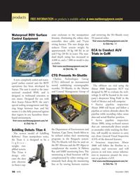 Marine Technology Magazine, page 56,  Nov 2005 Field