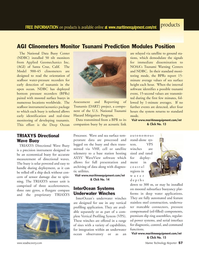 Marine Technology Magazine, page 57,  Nov 2005 WaveView software