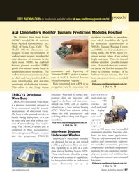 Marine Technology Magazine, page 57,  Nov 2005 WaveView software