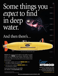 Marine Technology Magazine, page 4th Cover,  Nov 2005