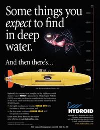 Marine Technology Magazine, page 4th Cover,  Nov 2005 O C A S S E T - A S S A C