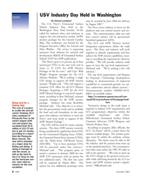 Marine Technology Magazine, page 6,  Nov 2005 Texas