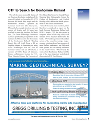 Marine Technology Magazine, page 7,  Nov 2005 Sylvia Earle