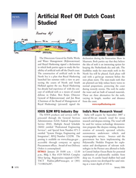 Marine Technology Magazine, page 8,  Jan 2006 Dubai