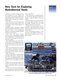 Marine Technology Magazine, page 9,  Jan 2006 Pacific Ocean