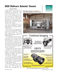 Marine Technology Magazine, page 11,  Jan 2006 Larry Pearson