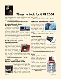 Marine Technology Magazine, page 20,  Jan 2006 components and systems