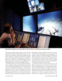 Marine Technology Magazine, page 25,  Jan 2006 Larry Mayer