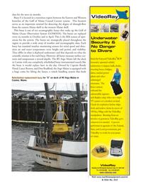 Marine Technology Magazine, page 29,  Jan 2006 Lance Burton