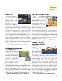 Marine Technology Magazine, page 41,  Jan 2006 real-time pro