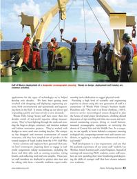 Marine Technology Magazine, page 43,  Jan 2006 Lee Weishar