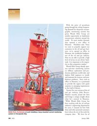 Marine Technology Magazine, page 44,  Jan 2006 Gulf of Mexico