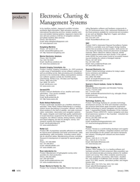 Marine Technology Magazine, page 48,  Jan 2006 Automated Disposal Surveillance System