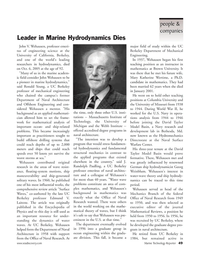 Marine Technology Magazine, page 49,  Jan 2006 Massachusetts
