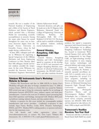Marine Technology Magazine, page 50,  Jan 2006 Kongsberg Maritime