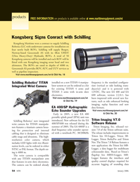 Marine Technology Magazine, page 54,  Jan 2006 side enhanced looking imaging