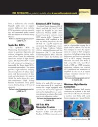 Marine Technology Magazine, page 55,  Jan 2006 high-resolution imaging