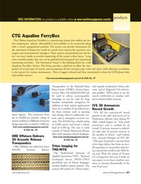 Marine Technology Magazine, page 57,  Jan 2006 Fledermaus