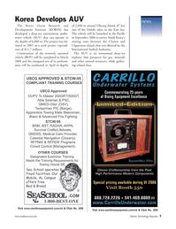 Marine Technology Magazine, page 7,  Jan 2006 Towing Vessel DE Sea School
