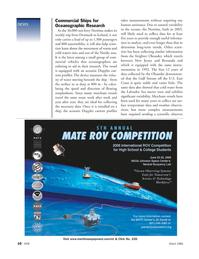 Marine Technology Magazine, page 9,  Mar 2006 Jill Zande