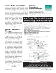 Marine Technology Magazine, page 14,  Mar 2006 Linux