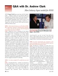 Marine Technology Magazine, page 17,  Mar 2006 Andrew Clark More