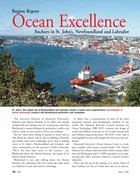 Marine Technology Magazine, page 19,  Mar 2006 Memorial University