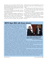 Marine Technology Magazine, page 22,  Mar 2006 Rhode