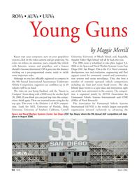 Marine Technology Magazine, page 33,  Mar 2006 Southern California