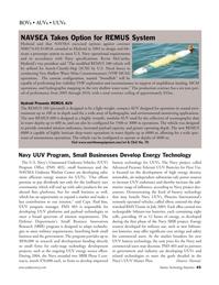 Marine Technology Magazine, page 43,  Mar 2006 improved battery technology