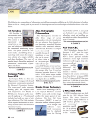 Marine Technology Magazine, page 48,  Mar 2006 4 Brooke Ocean Technology Brooke Ocean Technology