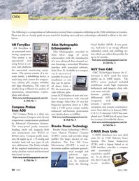 Marine Technology Magazine, page 48,  Mar 2006 4 Brooke Ocean Technology Brooke Ocean Technology