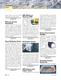 Marine Technology Magazine, page 54,  Mar 2006 Schleswig- Holstein