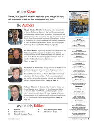 Marine Technology Magazine, page 4,  Mar 2006 New Hampshire