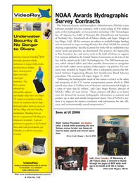 Marine Technology Magazine, page 5,  Mar 2006 Florida