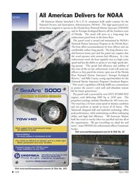 Marine Technology Magazine, page 7,  Mar 2006 Billy Causey