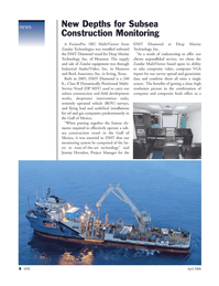 Marine Technology Magazine, page 8,  Apr 2006