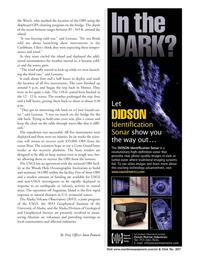 Marine Technology Magazine, page 13,  Apr 2006 Alaska