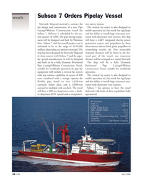 Marine Technology Magazine, page 16,  Apr 2006 deepwater riser systems