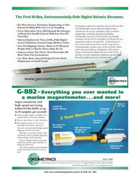Marine Technology Magazine, page 2nd Cover,  Apr 2006 California