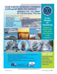 Marine Technology Magazine, page 25,  Apr 2006