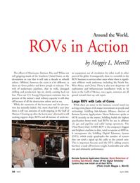 Marine Technology Magazine, page 30,  Apr 2006 Norm Robertson