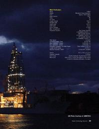 Marine Technology Magazine, page 39,  Apr 2006 Main Particulars Name Chikyu Builder Mitsubishi Heavy Industries