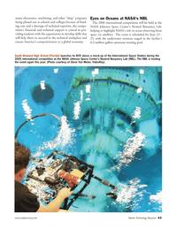 Marine Technology Magazine, page 43,  Apr 2006 South Broward High School