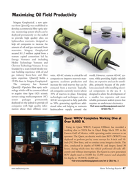 Marine Technology Magazine, page 47,  Apr 2006 Canyon Offshore