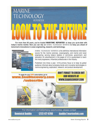 Marine Technology Magazine, page 3,  Apr 2006